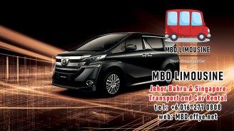 MBD Limousine Johor Bahru Transport and Car Rental Malaysia Transport and Car Rental Singapore Transport and Car Rental Transport between Malaysia and Singapore PA01-02