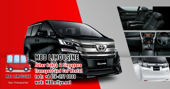 MBD Limousine Johor Bahru Transport and Car Rental Malaysia Transport and Car Rental Singapore Transport and Car Rental Transport between Malaysia and Singapore PA01-04