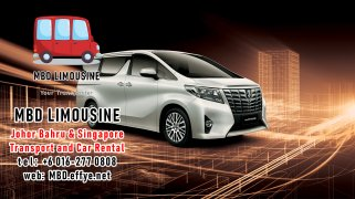 MBD Limousine Johor Bahru Transport and Car Rental Malaysia Transport and Car Rental Singapore Transport and Car Rental Transport between Malaysia and Singapore PA01-05