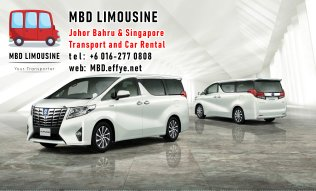MBD Limousine Johor Bahru Transport and Car Rental Malaysia Transport and Car Rental Singapore Transport and Car Rental Transport between Malaysia and Singapore PA01-06