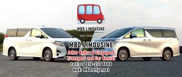 MBD Limousine Johor Bahru Transport and Car Rental Malaysia Transport and Car Rental Singapore Transport and Car Rental Transport between Malaysia and Singapore PA01-11