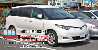 MBD Limousine Johor Bahru Transport and Car Rental Malaysia Transport and Car Rental Singapore Transport and Car Rental Transport between Malaysia and Singapore PA01-13