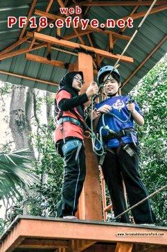 和平团契少年生活营 2018 你是谁 认识你自己 Peace Fellowship Youth Camp 2018 Who Are You Know Yourself Serama Adventure Park Ironman Walk A09