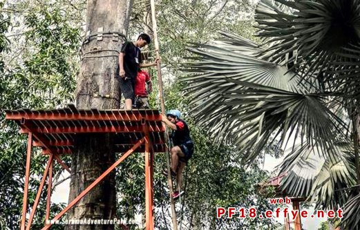 和平团契少年生活营 2018 你是谁 认识你自己 Peace Fellowship Youth Camp 2018 Who Are You Know Yourself Adventure Park Flying Fox A02