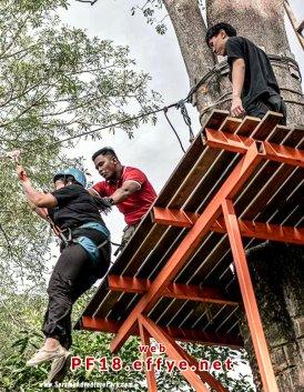 和平团契少年生活营 2018 你是谁 认识你自己 Peace Fellowship Youth Camp 2018 Who Are You Know Yourself Adventure Park Flying Fox A03