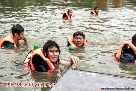 和平团契少年生活营 2018 你是谁 认识你自己 Peace Fellowship Youth Camp 2018 Who Are You Know Yourself Adventure Park Water Confidence A03