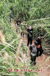 和平团契少年生活营 2018 你是谁 认识你自己 Peace Fellowship Youth Camp 2018 Who Are You Know Yourself Adventure Park River Trekking A03