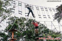 和平团契少年生活营 2018 你是谁 认识你自己 Peace Fellowship Youth Camp 2018 Who Are You Know Yourself Serama Adventure Park Ironman Walk A03