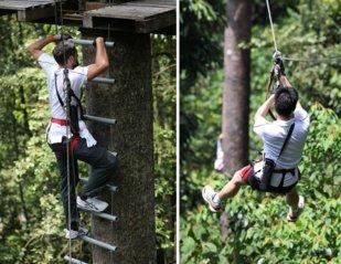和平团契少年生活营 2018 你是谁 认识你自己 Peace Fellowship Youth Camp 2018 Who Are You Know Yourself Skytrex Melaka Adventure Taman Botanikal Ayer Keroh A04