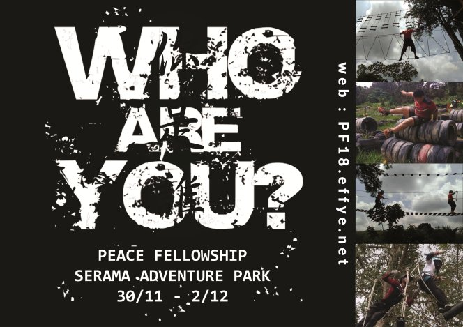 和平团契少年生活营 2018 你是谁 认识你自己 Peace Fellowship Youth Camp 2018 Who Are You Know Yourself A01