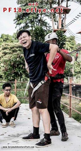和平团契少年生活营 2018 你是谁 认识你自己 Peace Fellowship Youth Camp 2018 Who Are You Know Yourself Serama Adventure Park Ironman Walk A05