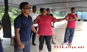 和平团契少年生活营 2018 你是谁 认识你自己 Peace Fellowship Youth Camp 2018 Who Are You Know Yourself Adventure Park Archery A01