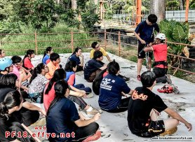 和平团契少年生活营 2018 你是谁 认识你自己 Peace Fellowship Youth Camp 2018 Who Are You Know Yourself Serama Adventure Park Ironman Walk A08