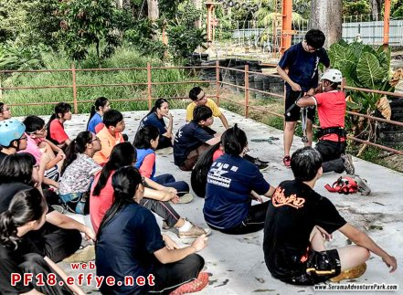 和平团契少年生活营 2018 你是谁 认识你自己 Peace Fellowship Youth Camp 2018 Who Are You Know Yourself Serama Adventure Park Ironman Walk A08