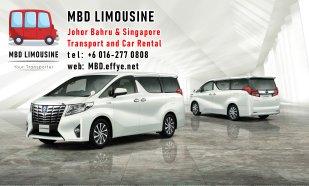 MBD Limousine Pengangkutan Johor Bahru dan Sewa Kereta Johor Bahru Pengangkutan Malaysia dan Sewa Kereta Malaysia dan Singapore Penghantaran Lapangan Terbang Singapura PA01-06