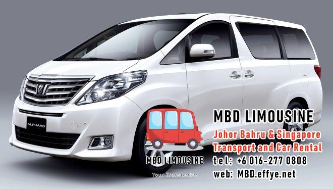 MBD Limousine Pengangkutan Johor Bahru dan Sewa Kereta Johor Bahru Pengangkutan Malaysia dan Sewa Kereta Malaysia dan Singapore Penghantaran Lapangan Terbang Singapura PA01-09
