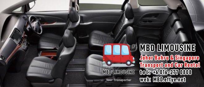 MBD Limousine Pengangkutan Johor Bahru dan Sewa Kereta Johor Bahru Pengangkutan Malaysia dan Sewa Kereta Malaysia dan Singapore Penghantaran Lapangan Terbang Singapura PA01-12