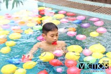 Victor Lim Birthday 2018 in Malaysia Party Buffet Swimming Fun A01