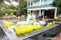 Victor Lim Birthday 2018 in Malaysia Party Buffet Swimming Fun A06