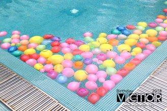 Victor Lim Birthday 2018 in Malaysia Party Buffet Swimming Fun A07
