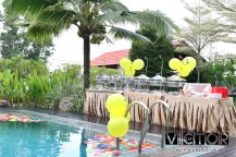 Victor Lim Birthday 2018 in Malaysia Party Buffet Swimming Fun A16