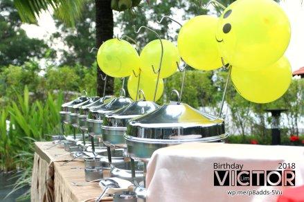 Victor Lim Birthday 2018 in Malaysia Party Buffet Swimming Fun A17