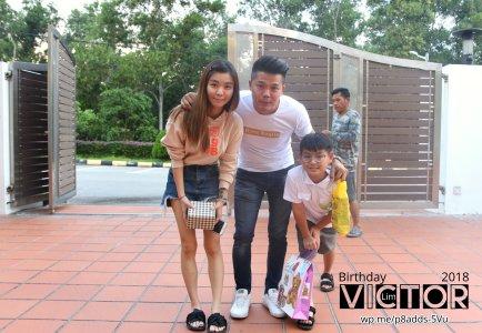 Victor Lim Birthday 2018 in Malaysia Party Buffet Swimming Fun A18