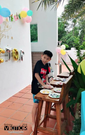 Victor Lim Birthday 2018 in Malaysia Party Buffet Swimming Fun A22