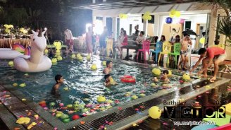 Victor Lim Birthday 2018 in Malaysia Party Buffet Swimming Fun A23
