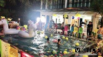 Victor Lim Birthday 2018 in Malaysia Party Buffet Swimming Fun A24