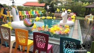 Victor Lim Birthday 2018 in Malaysia Party Buffet Swimming Fun A26