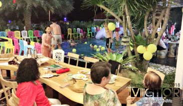 Victor Lim Birthday 2018 in Malaysia Party Buffet Swimming Fun A27