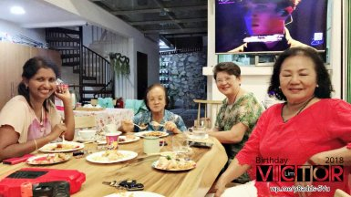 Victor Lim Birthday 2018 in Malaysia Party Buffet Swimming Fun A28