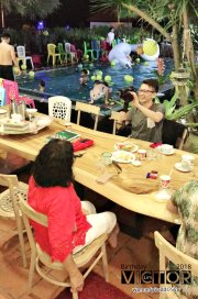 Victor Lim Birthday 2018 in Malaysia Party Buffet Swimming Fun A32