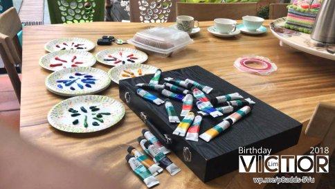 Victor Lim Birthday 2018 in Malaysia Party Buffet Swimming Fun A35