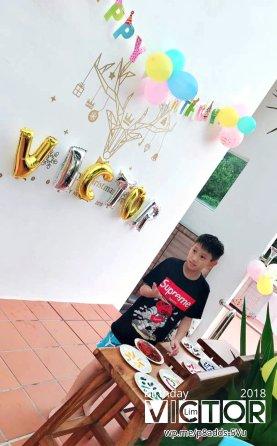 Victor Lim Birthday 2018 in Malaysia Party Buffet Swimming Fun A36