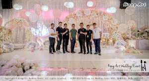 Kiong Art Wedding Event Kuala Lumpur Malaysia Event and Wedding Decoration Company One-stop Wedding Planning Services Wedding Theme Fantasy Secret Garden Restoran SY Muar A03-10