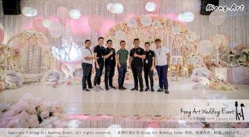 Kiong Art Wedding Event Kuala Lumpur Malaysia Event and Wedding Decoration Company One-stop Wedding Planning Services Wedding Theme Fantasy Secret Garden Restoran SY Muar A03-10