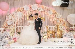 Kiong Art Wedding Event Kuala Lumpur Malaysia Event and Wedding Decoration Company One-stop Wedding Planning Services Wedding Theme Fantasy Secret Garden Restoran SY Muar A03-12