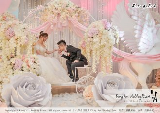 Kiong Art Wedding Event Kuala Lumpur Malaysia Event and Wedding Decoration Company One-stop Wedding Planning Services Wedding Theme Fantasy Secret Garden Restoran SY Muar A03-14