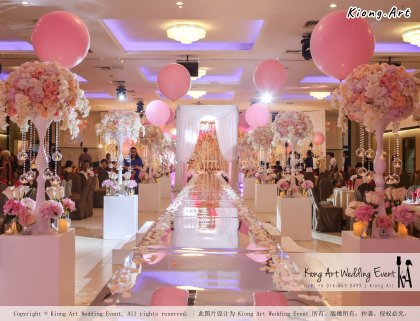 Kiong Art Wedding Event Kuala Lumpur Malaysia Event and Wedding Decoration Company One-stop Wedding Planning Services Wedding Theme Fantasy Secret Garden Restoran SY Muar A03-32