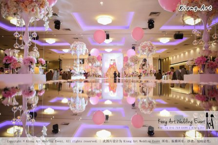Kiong Art Wedding Event Kuala Lumpur Malaysia Event and Wedding Decoration Company One-stop Wedding Planning Services Wedding Theme Fantasy Secret Garden Restoran SY Muar A03-33