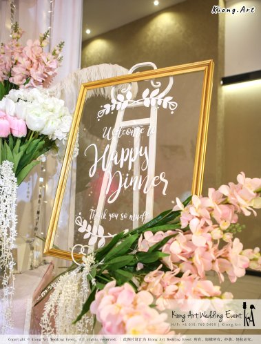 Kiong Art Wedding Event Kuala Lumpur Malaysia Event and Wedding Decoration Company One-stop Wedding Planning Services Wedding Theme Fantasy Secret Garden Restoran SY Muar A03-39
