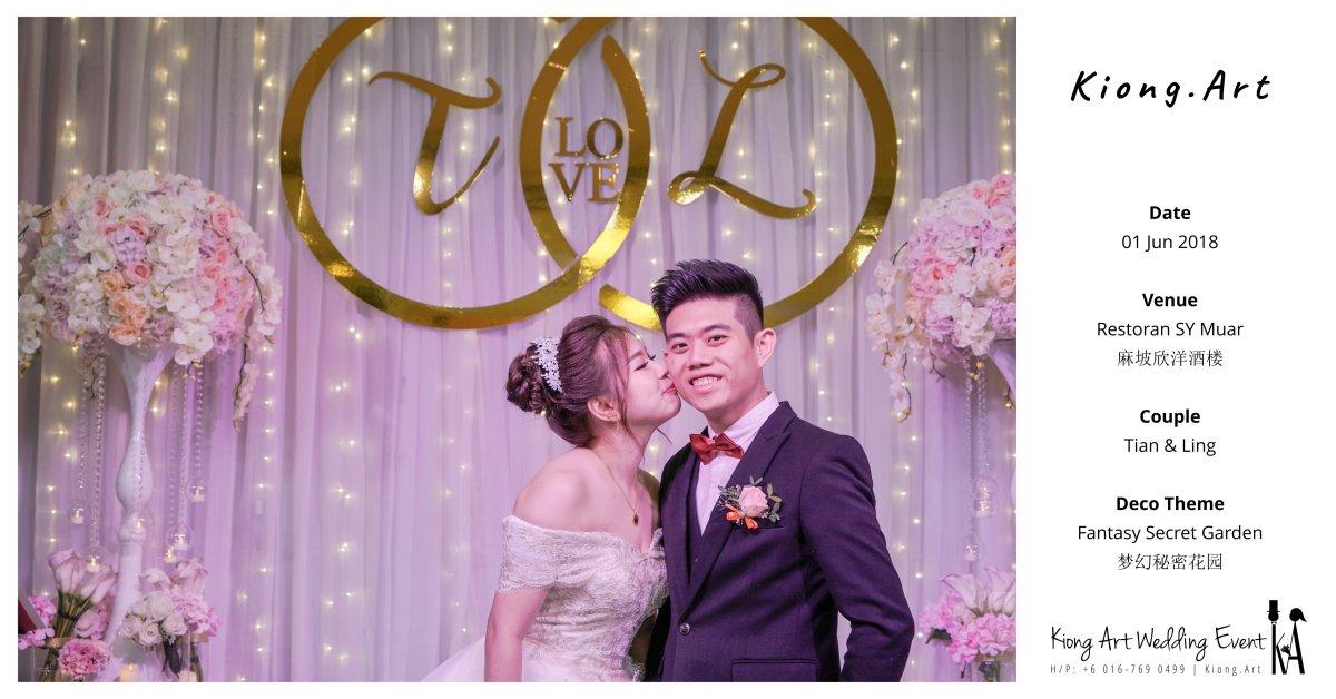 Fantasy Secret Garden Theme @ 01 Jun 2018 | Wedding Theme