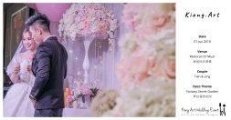 Kiong Art Wedding Event Kuala Lumpur Malaysia Event and Wedding Decoration Company One-stop Wedding Planning Services Wedding Theme Fantasy Secret Garden Restoran SY Muar A03-53