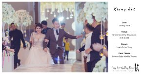 Kiong Art Wedding Event Kuala Lumpur Malaysia Event and Wedding DecorationCompany One-stop Wedding Planning Services Wedding Theme Live Band Wedding Photography Videography A03-94
