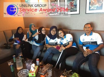 Unilink Group 5 and 10 Years Service Award Night 2018 from Agensi Pekerjaan Unilink Prospects Sdn Bhd at Niwa Japanese Karaoke 03