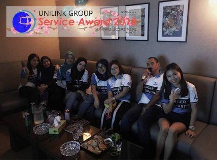 Unilink Group 5 and 10 Years Service Award Night 2018 from Agensi Pekerjaan Unilink Prospects Sdn Bhd at Niwa Japanese Karaoke 04