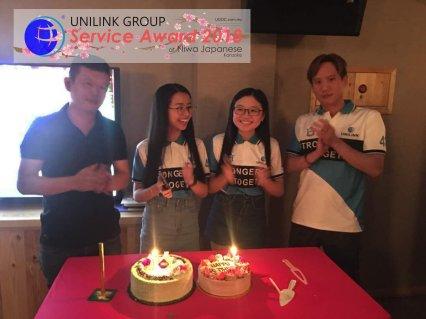 Unilink Group 5 and 10 Years Service Award Night 2018 from Agensi Pekerjaan Unilink Prospects Sdn Bhd at Niwa Japanese Karaoke 05