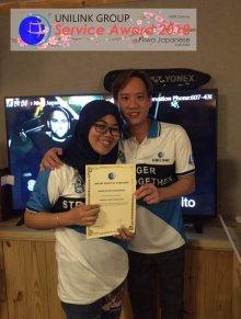 Unilink Group 5 and 10 Years Service Award Night 2018 from Agensi Pekerjaan Unilink Prospects Sdn Bhd at Niwa Japanese Karaoke 09